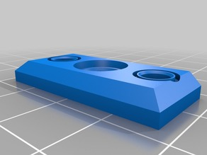 Modified MMU2 Spring Selector Plate for Prusa MMU2
