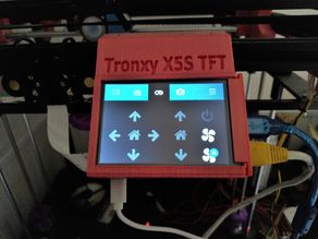 Tronxy X5S RPI3B 3.5TFT with octopi or octoprint and touchui