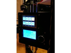 Dual display panel for X5S