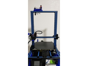 M6 Nozzles and tools holder for 2020 frame (A30, CR-10, Ender 3, A10, A10M, A20M and others)