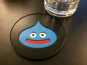 Dragon Quest Slime Coaster - single extruder