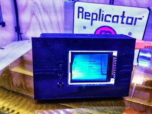 """Raspberry Pi Case for 1.8"""" TFT LCD Display"""