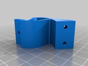 Hidden hinge for Craftbot front door