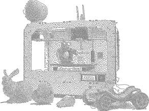 MakerBot Replicator TSP Single Line Drawing