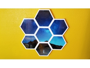 Hexagon Picture Frames