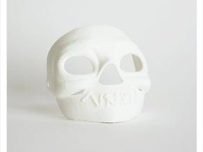 Makies Spooky Skull Mask
