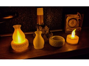 Tea Light oil lamp