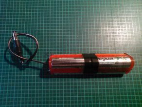 3x2 AA inline battery holder