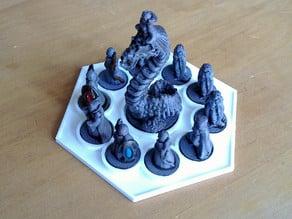 Capture trays for Pocket Tactics