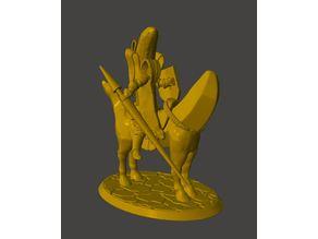 Banana Knight - Mounted Horse Bananas