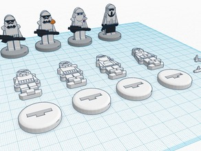 FlatMinis: Stormtroopers