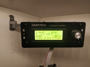 Geeetech i3 B/C movable LCD mount for IKEA stuva