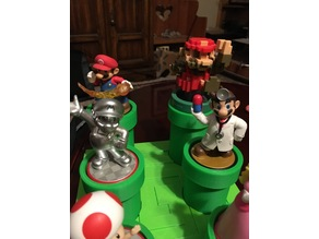 Amiibo Warp Pipe Stand