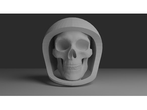 Astro Skullington - MakerBot Astronaut Remix