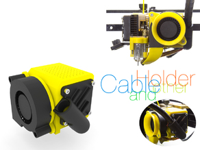 Cable holder and other for Prusa i4