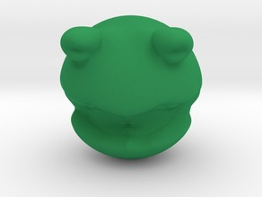 Rolly polly Kermit the frog head toy