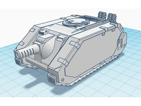 Celeritas Prototype, Warhammer 40k Light Tank Destroyer