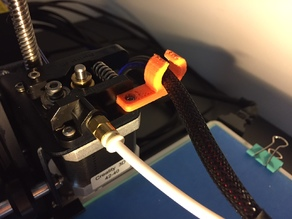 CR10 - Super simple extrusion cable holder