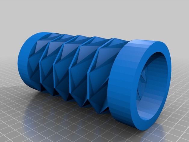 Origami Cylinder By Miles3D