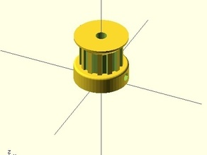 13-tooth T5 pulley