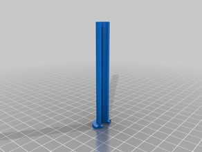 Z-distancer for leveling x-axis lead rods