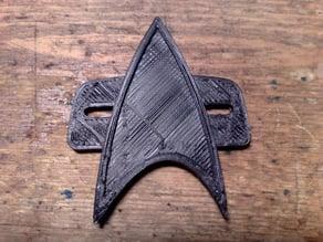 StarTrek Voyager Comm Badge