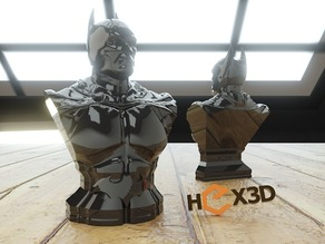 Another Batman Bust (HD) Arkham