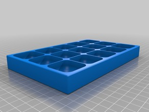 My Customized Magnetic Screw Tray/Box (with optional lid)