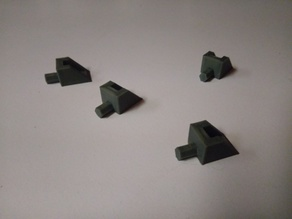 Shelf Pegs for 5mm Hole