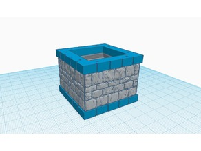 Stone height extender 2x2