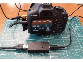 USB shutter control cable for DSLR (Canon,Pentax,Sony,Nikon)