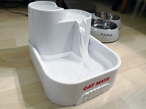 Cat Mate Pet Fountain Front Gap Cover