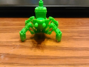 Benchy the Spider Tank