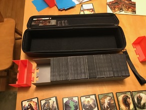 """Quiver"" Card carrying case divider sections MTG"