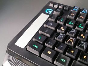 Logitech G910 Macro Key Cover