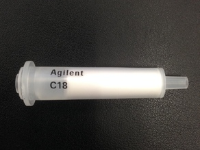 Carrier SPE Column C18 Agilent 1g