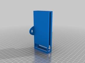 AA battery wall-holder