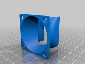 Customizable Fan Duct / Anycubic i3 Mega S