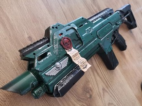 Lasgun kit for Nerf Hypnos