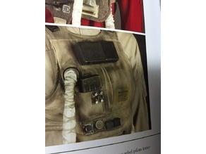 Y Wing Pilot (ROTJ) Flak vest greeblies - Chestbox