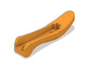 Сonstruction stapler handle
