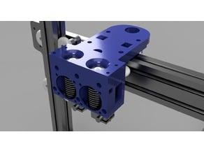 Anet a2 dual extruder E3Dv6 plus sensor mount