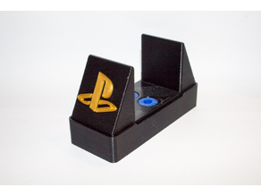 PS4 Pro vertical stand with vibration dampening v2