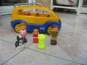Figurine pour voiture BAO - Daniel
