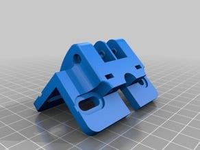 HEVO Hypercube Evolution Idler/Pulley Mount for 10mm Rod - Rod Slide in