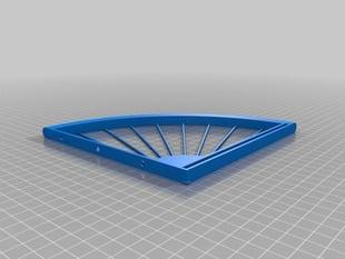 Bike Wheel Shelf Brackets (parametric)