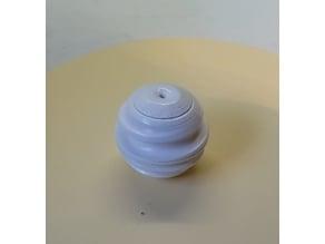 Spiral sphere fidget