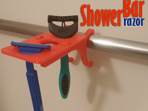ShowerBar - Razor Edition - Shower Caddy