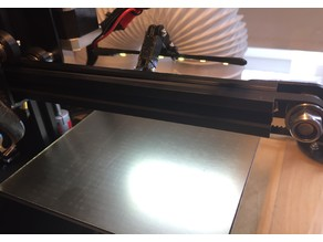 led stripe lamp for 20mm vrails on 3d printers