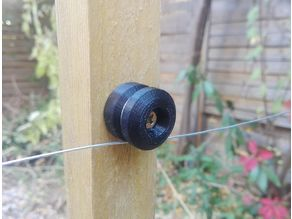 Insulator for electric fence